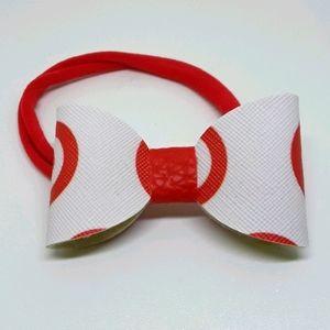 small handmade bow headband